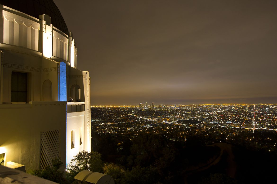 Skyline from Griffith Observatory
