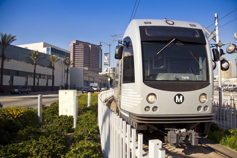 Metro Gold Line rail