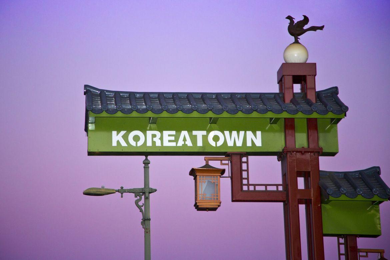 Koreatown sign