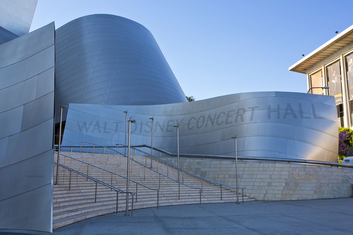 Walt Disney Concert Hall sign