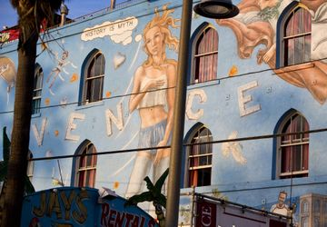 Venice Beach mural