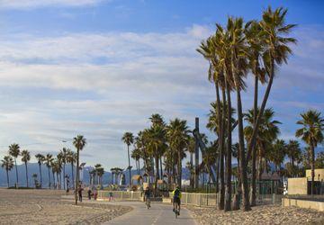 Venice bike path
