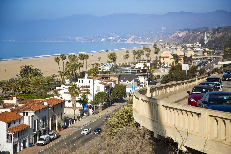 Santa Monica coast