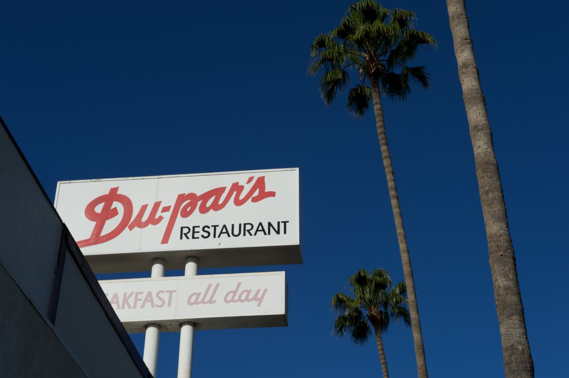 Dupars Restaurant sign