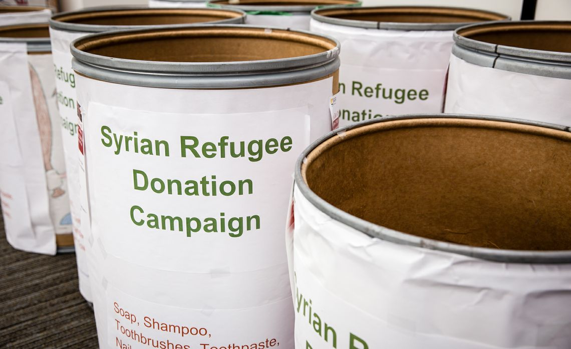 SCE EMPLOYEES RALLY TO HELP SYRIAN REFUGEES