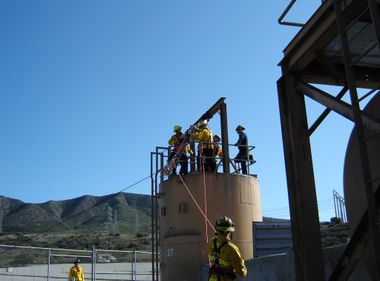 San Onofre Fire Rescue Equipment Helps Camp Pendleton
