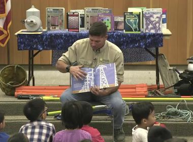 Linemen Library Readings Help Educate Kids About Electrical Safety