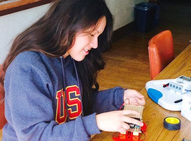Pomona Student Proves Girls Can Be Engineers Too
