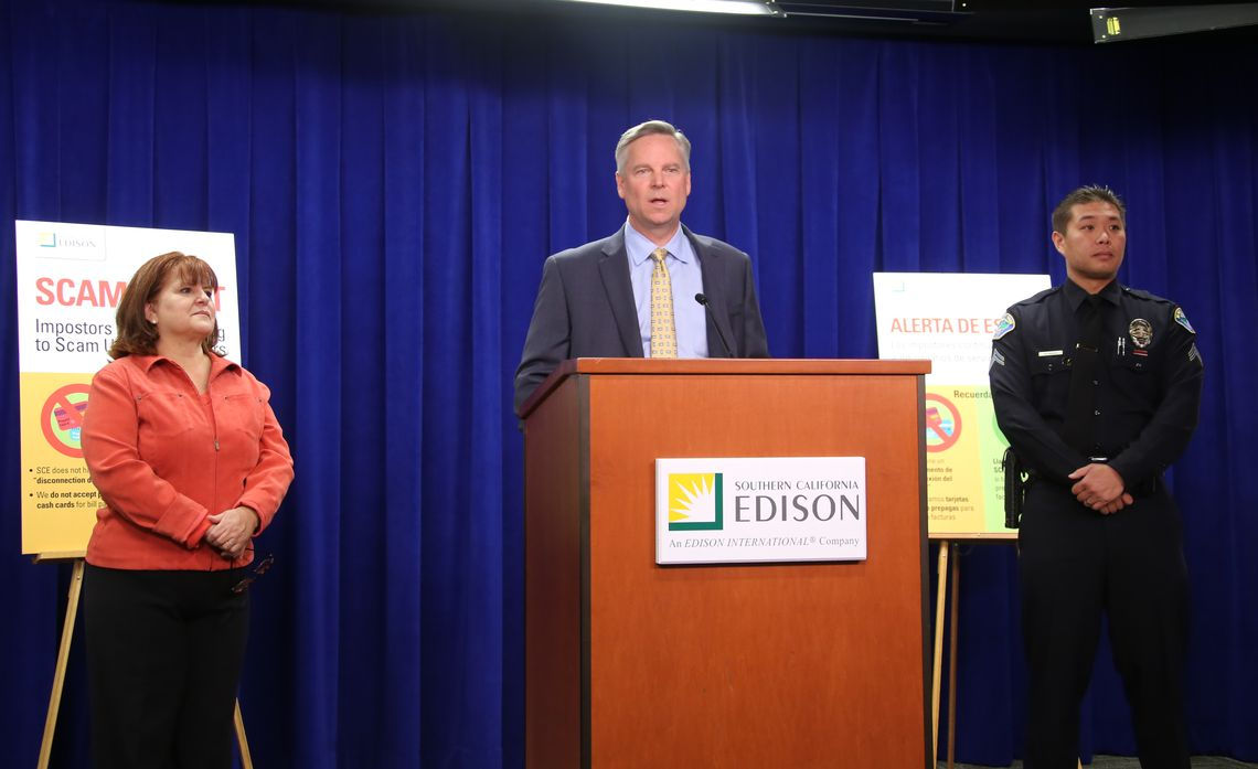 utility bill scams news conference