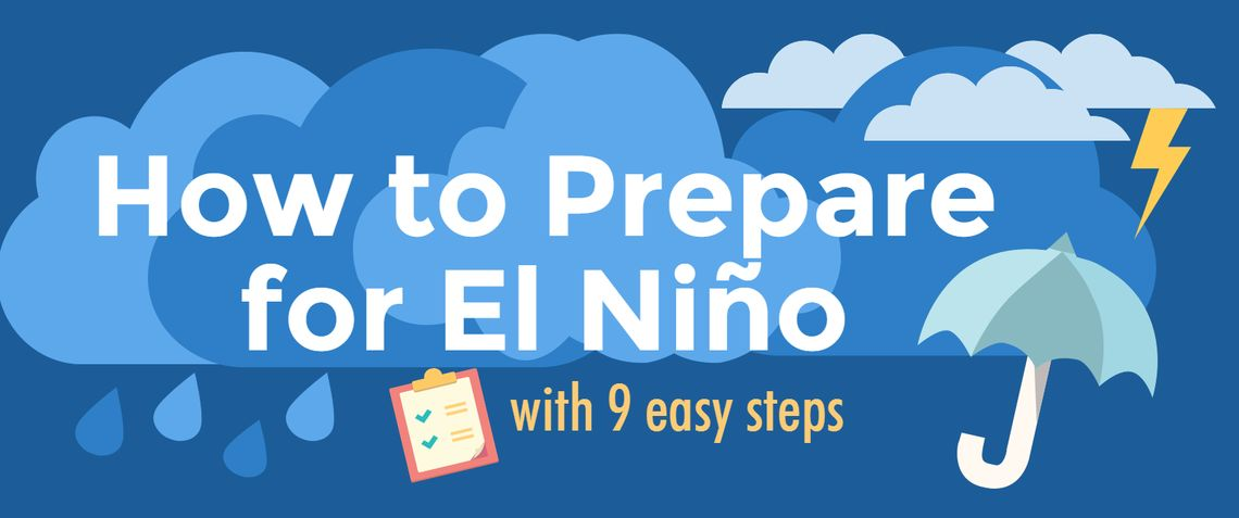 El Nino Infographic Title