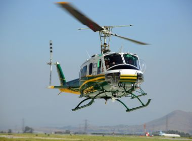 Heavy-Duty Helicopter Helps Maintain Electric Grid