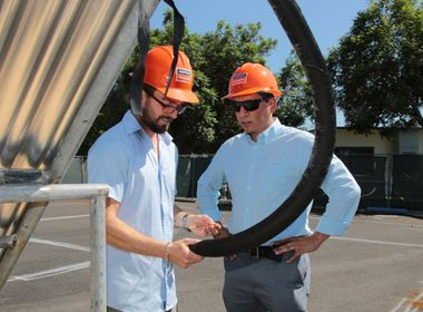 Solar Decathlon's Team Orange County Gets Expert Advice From SCE Mentors