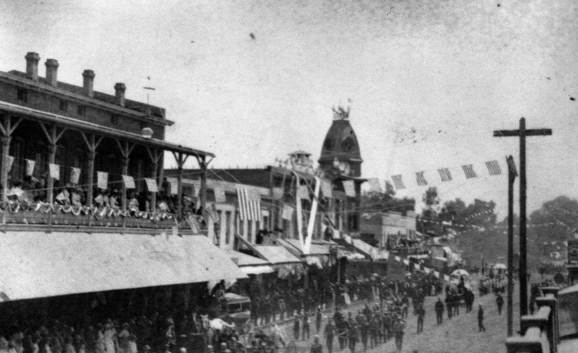 Visalia street parade