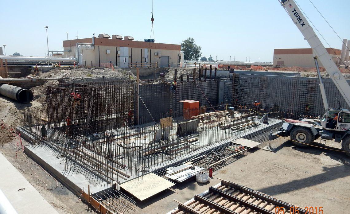 Visalia water treatment plant