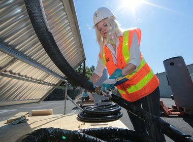 Solar Decathlon Gives Women Engineering Students a Chance to Shine