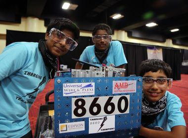 FIRST Robotics Competition Inspires STEM Education
