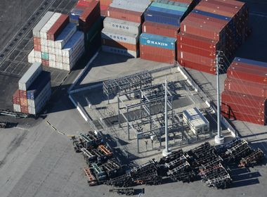 Helping Transform Long Beach Port Into Most Technically Advanced Shipping Terminal in U.S.
