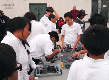 Providing a Pathway to STEM for Kids