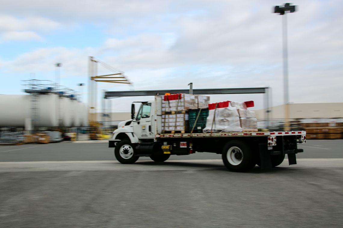 Trasnport Truck