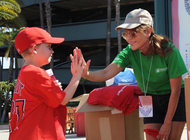 Edison International Marks 2014 Prepare SoCal Day at Angel Stadium