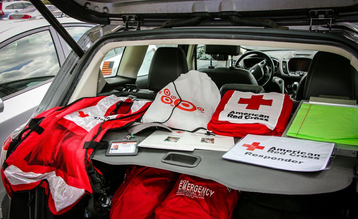American Red Cross volunteers