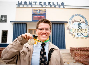 Tragedies Inspire Montebello High School Senior's Career Plans