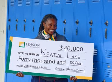 Scholar-Athlete's Hard Work Earns Her a $40,000 Scholarship