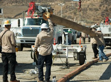SCE Crews Begin Restoration Efforts in Sand Fire Ravaged Areas