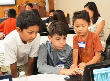 12-Year-Old Coding Expert Leads Workshop for Local Youth