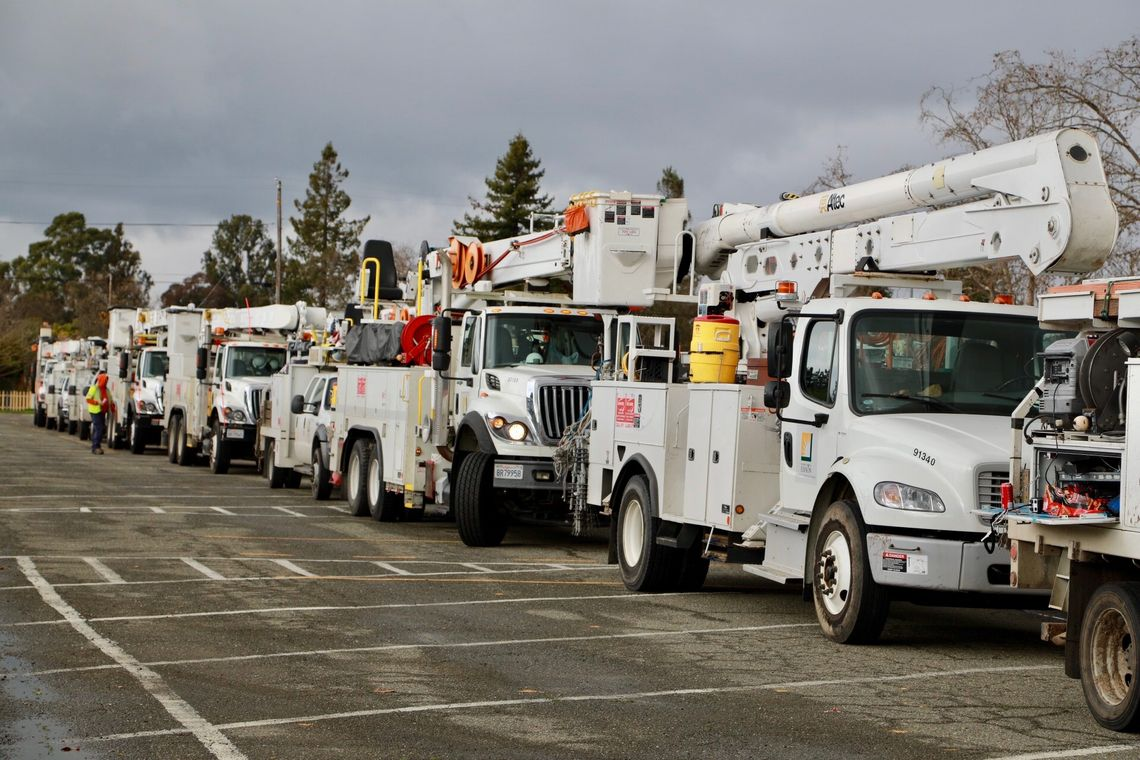 SCE Crews - mutual assistance