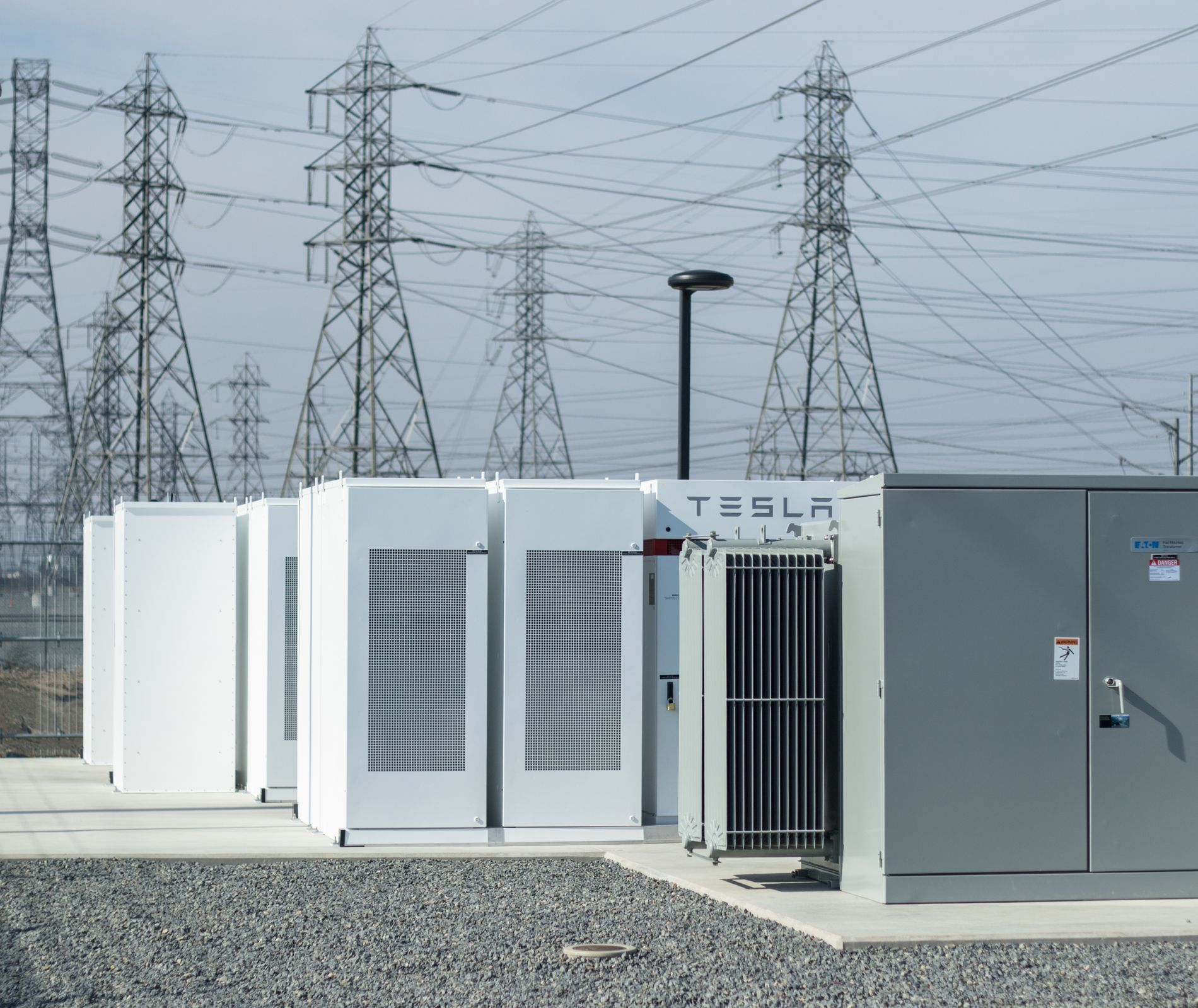 Innovative Battery Storage Facility at SCE's Mira Loma Substation