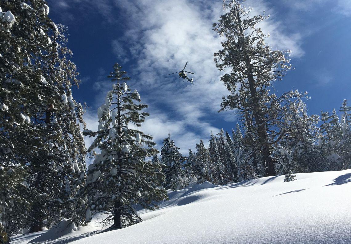 SCE Crews and Snow
