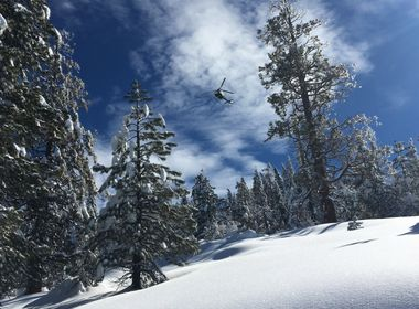 SCE Line Crews Repair Equipment in Mountains Blanketed by Snow
