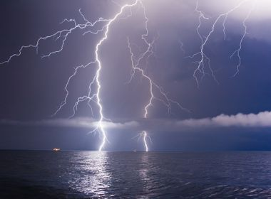 Does Lightning Ever Strike Fish?