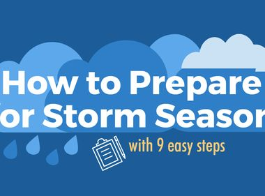 Nine Steps to Prepare for Storm Season