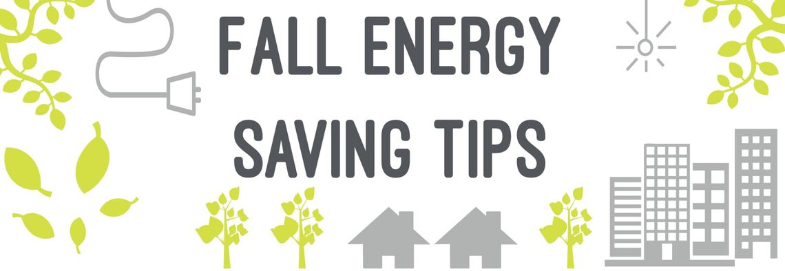 Fall Energy Saving Tips Header