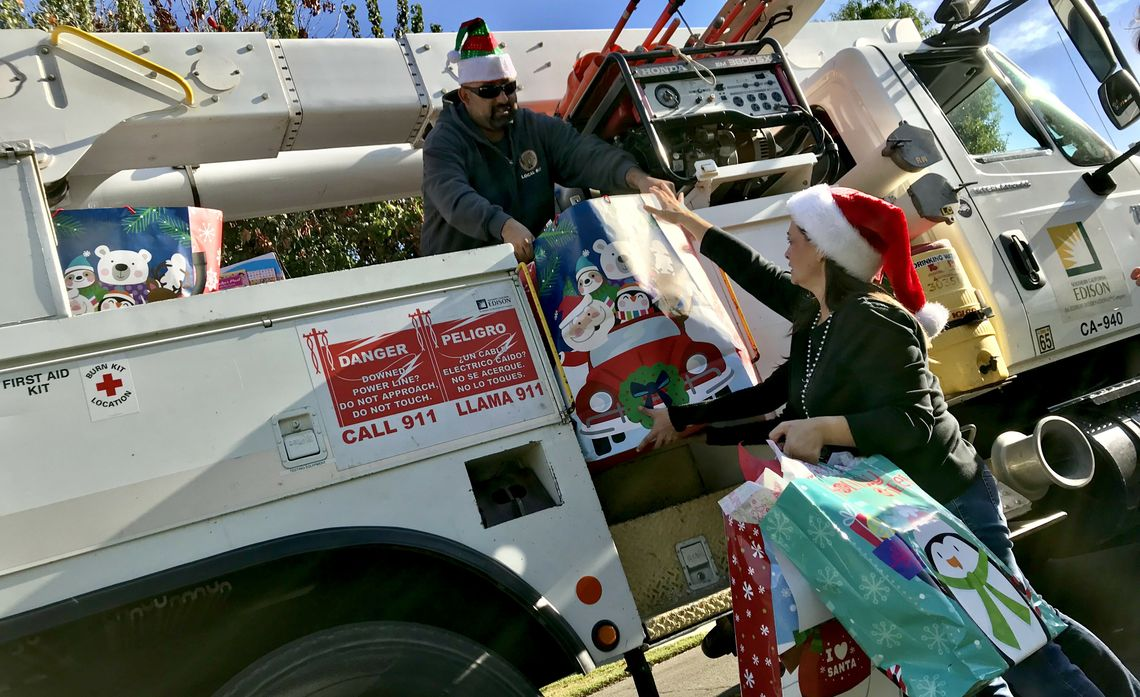 Toy Delivery for Foster Kids
