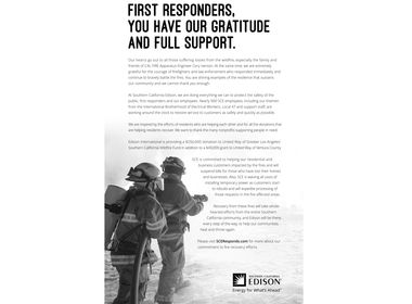 First Responder Ad