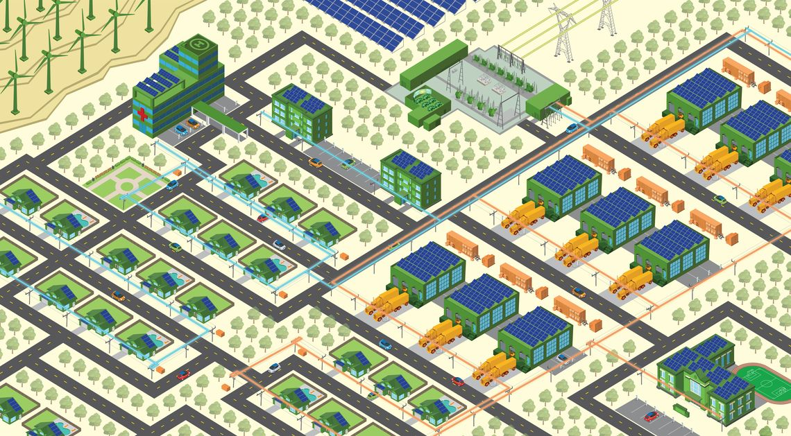 Grid Mod_Neighborhood Illustration
