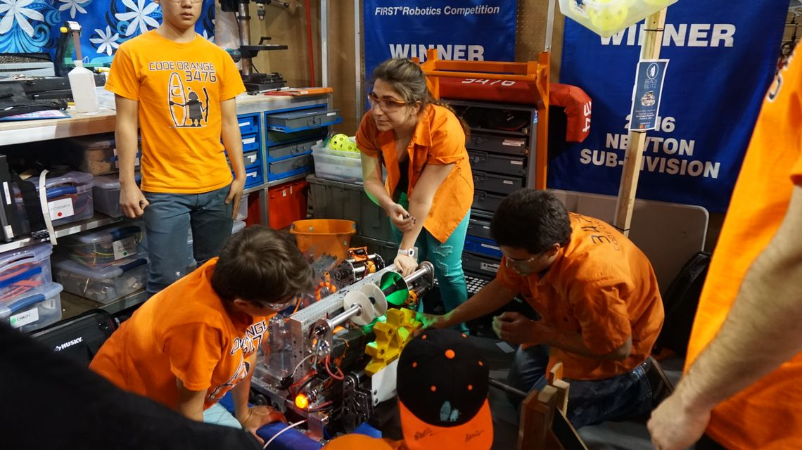 FIRST Robotics OC Regionals