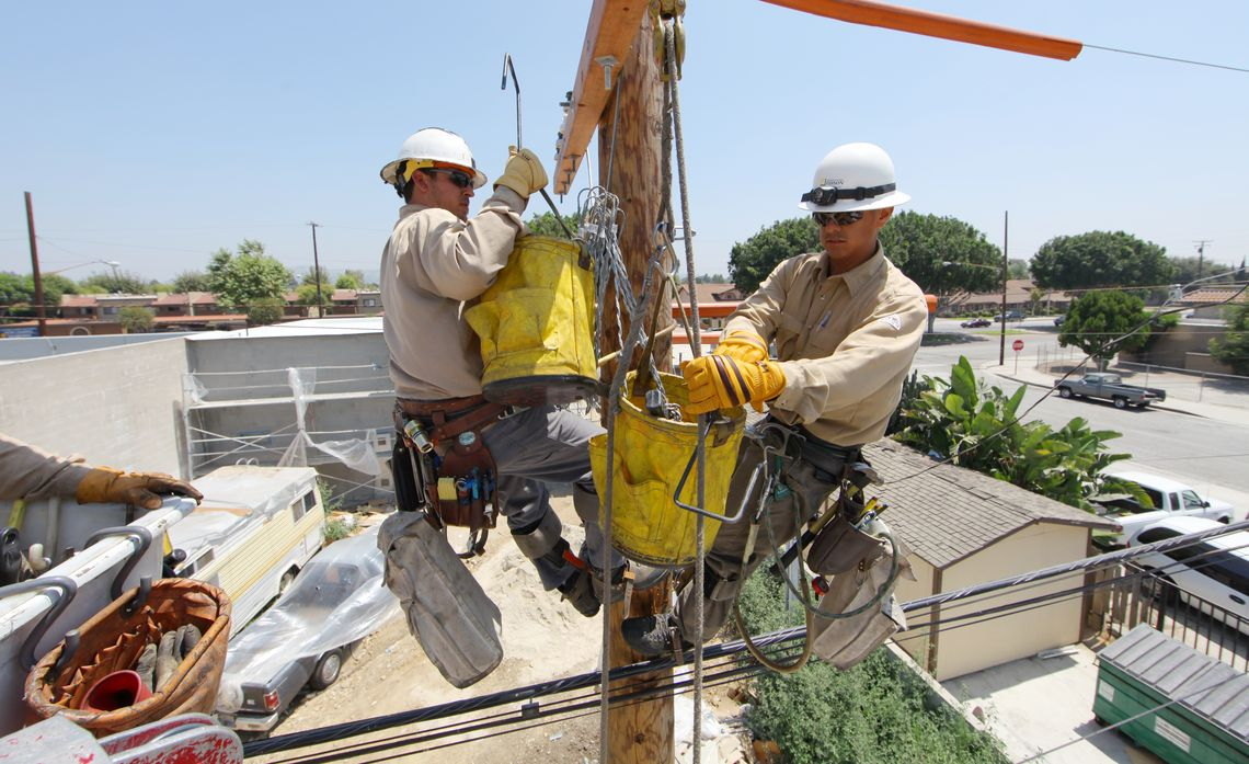Dangers of Attaching Items to Power Poles