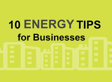 Infographic: Energy-Efficiency Tips for Businesses