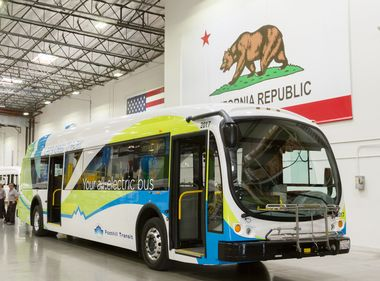 Edison CEO Applauds New SoCal Electric Bus Manufacturing Plant