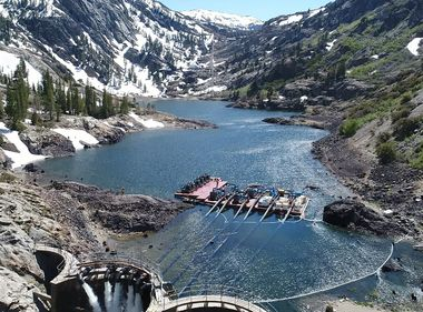 SCE's Dams Weather a Near-Record Snowmelt