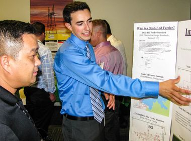 Interns Apply Skills to Innovative Utility Projects