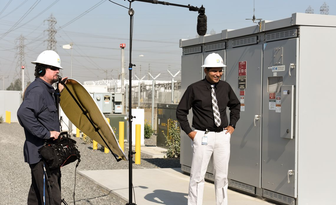 SCE's Wind Energy, Energy Storage Featured in CNBC World TV Show
