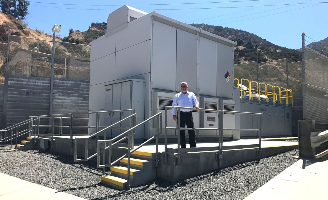 Catalina Battery Storage