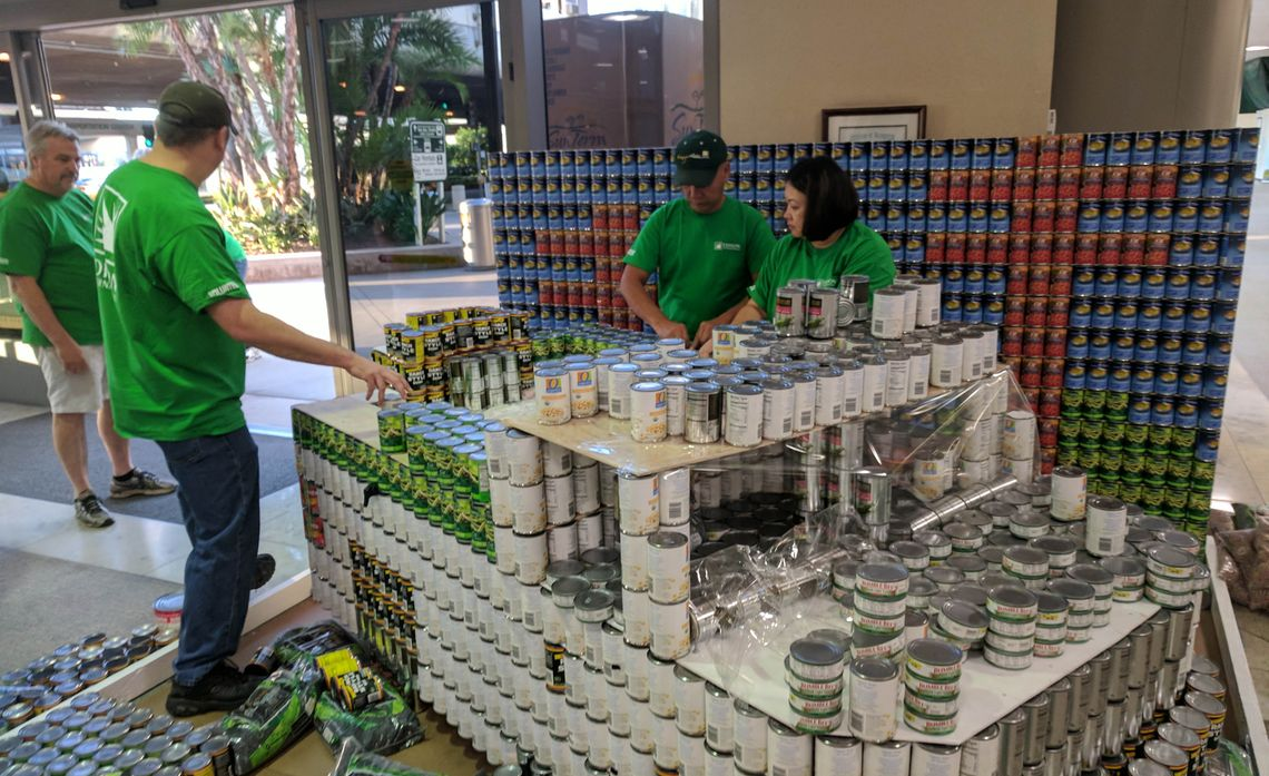 Canstruction Demob
