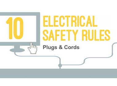 INFOGRAPHIC: Top 10 Electrical Safety Rules for Plugs and Cords