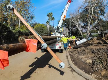 SCE Crews Continue to Make Repairs in Areas Impacted by Montecito Mudslide